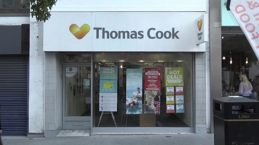 Thomas Cook collapses after rescue talks fail