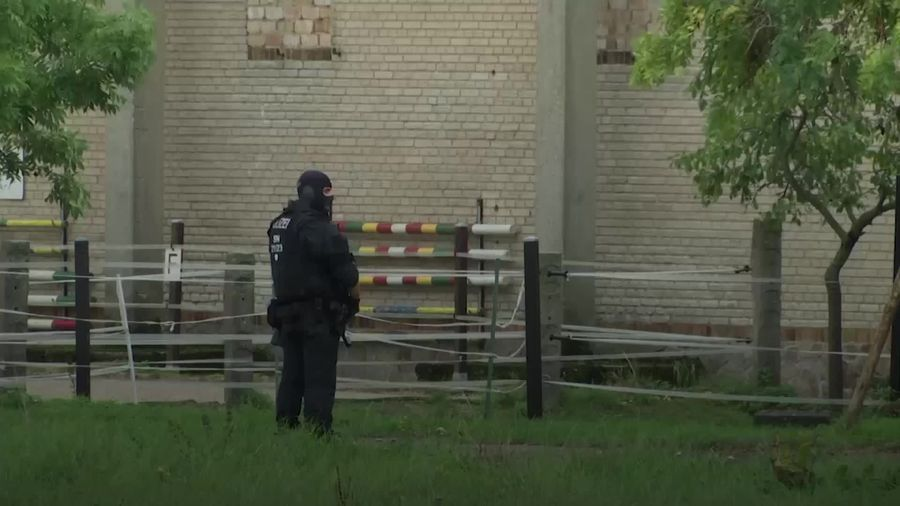 Two killed in shooting in eastern Germany