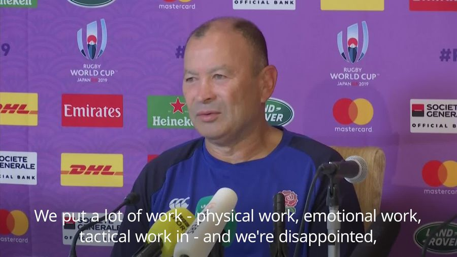 Typhoon hits Rugby World Cup: Eddie Jones 'disappointed' at cancelled England game