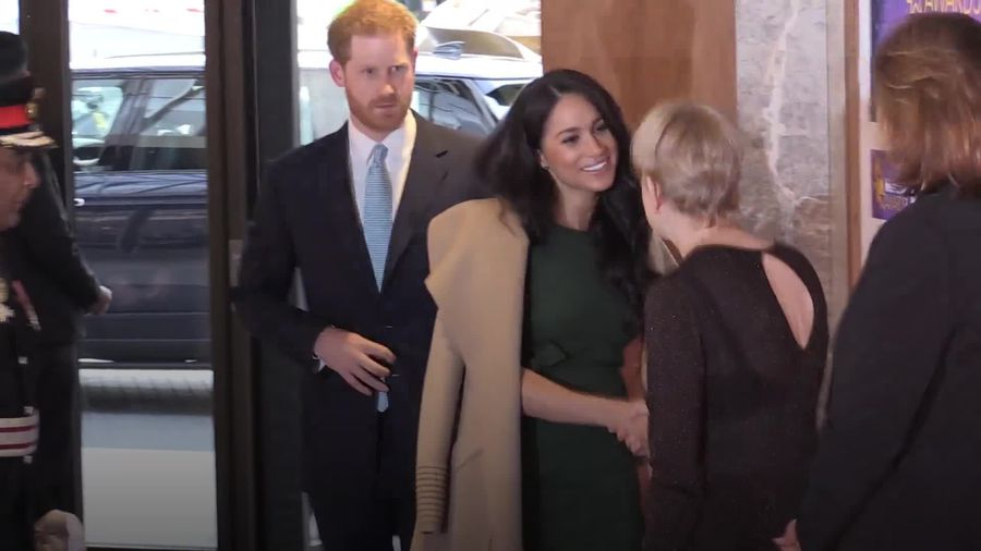 Meghan and Harry attend the WellChild awards