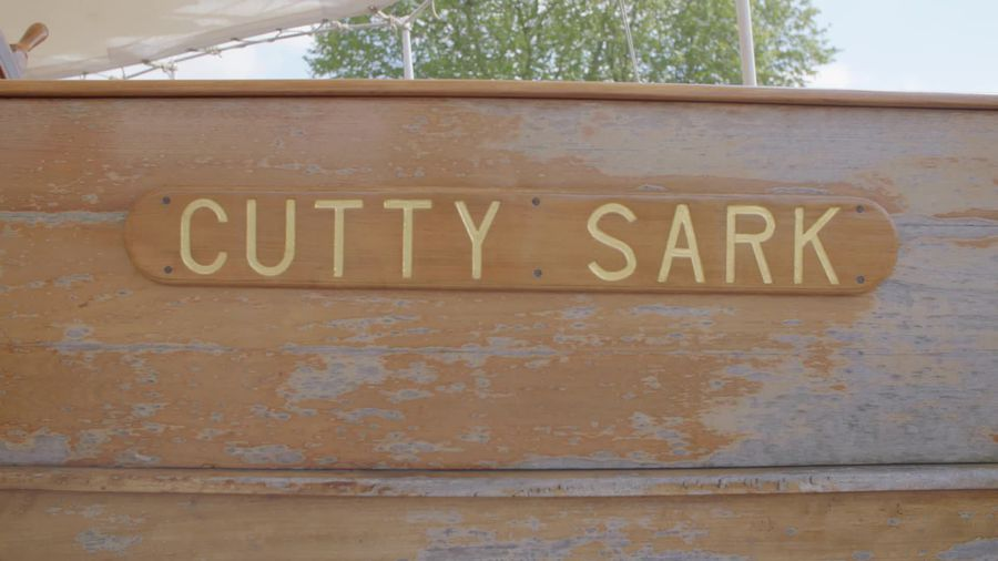 Riggers get Cutty Sark ship-shape ahead of its 150th anniversary