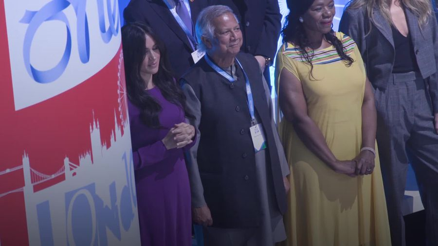 Meghan attends One Young World summit opening ceremony