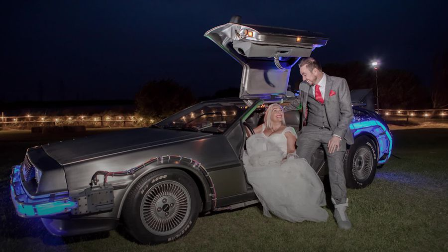 London couple have Back To The Future-themed wedding