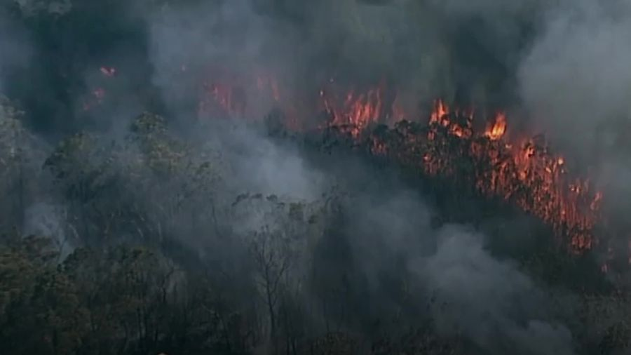 Australia wildfires burn as residents warned there is no time left to flee