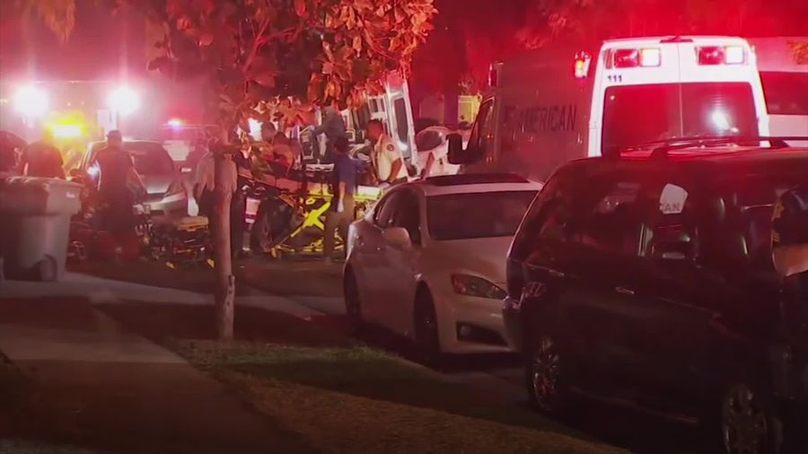 Several casualties reported in mass shooting at backyard party in California