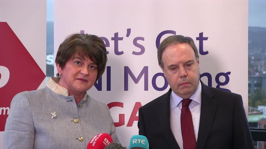 Foster: DUP would not support Jeremy Corbyn-led government