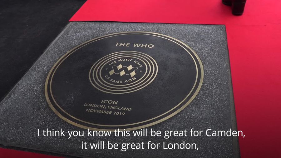 The Who enter Music Walk of Fame