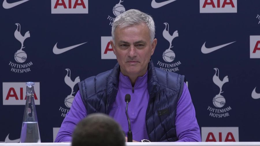 Jose Mourinho pays tribute to Mauricio Pochettino during first Spurs press conference