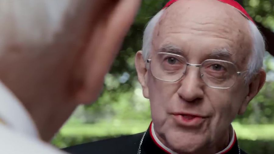 Hopkins 'rankled' to be second on Two Popes production forms