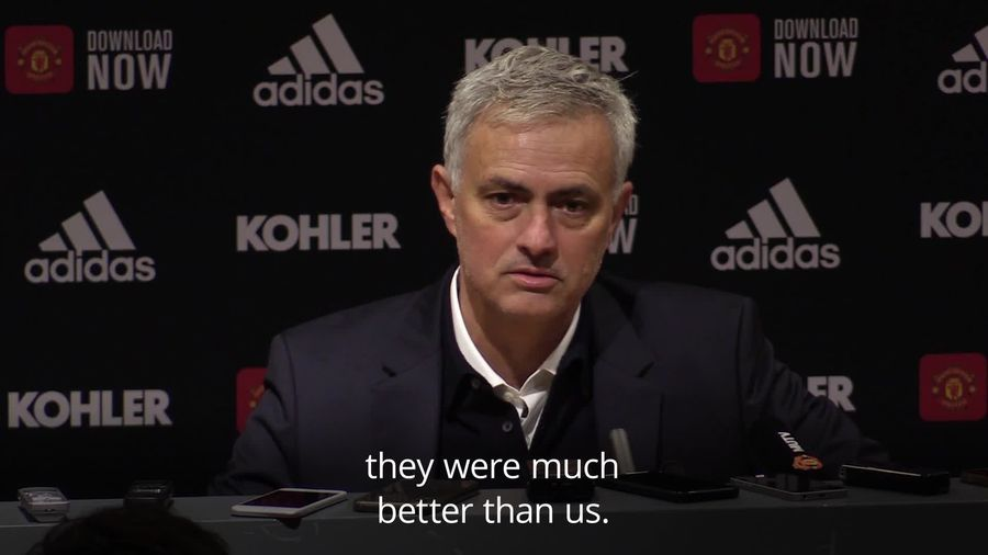 Jose Mourinho accepts former side deserved to win