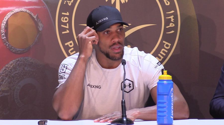 Anthony Joshua says he kept it simple en route to a 'genius performance'
