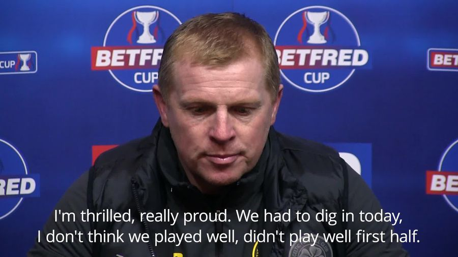 Managers react after Celtic clinch Betfred Cup final