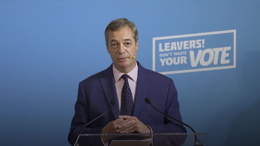 Nigel Farage not impressed by Boris Johnson's 'oven-ready' Brexit deal
