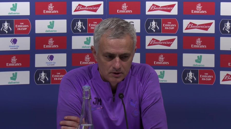 If Eriksen leaves he does so 'with his head up', Mourinho says