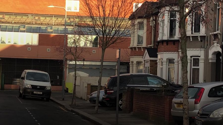 Three men stabbed to death in East London