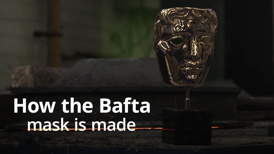 A look at how Bafta masks are made