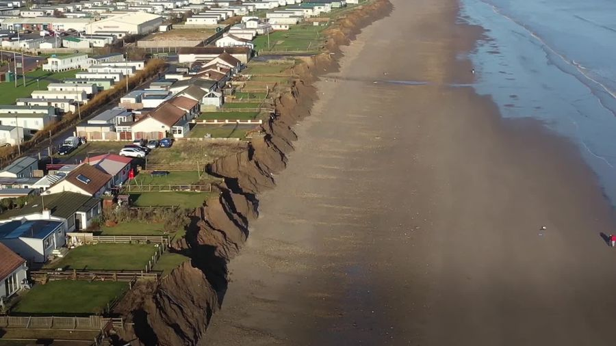 Fears grow over coastal erosion in Skipsea