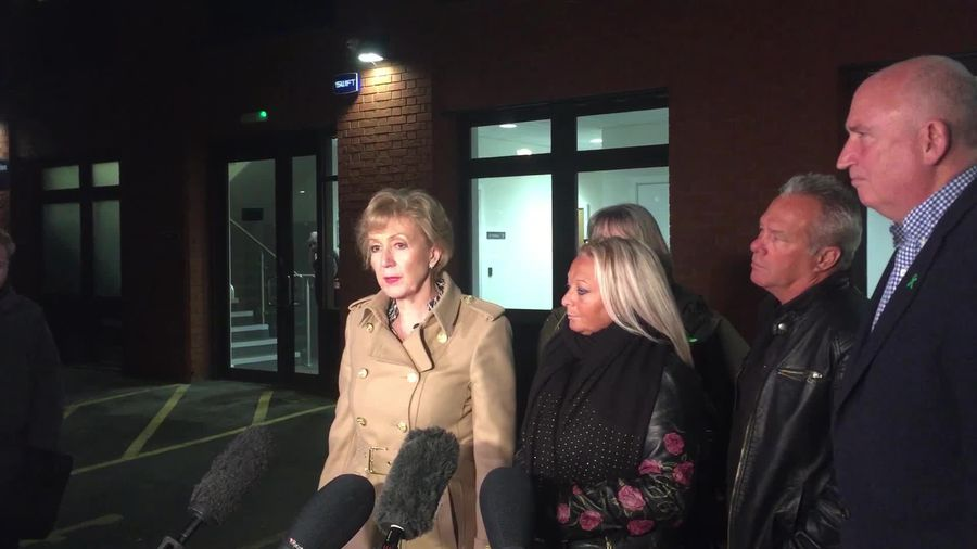 Andrea Leadsom meets with Harry Dunn's parents after extradition refusal