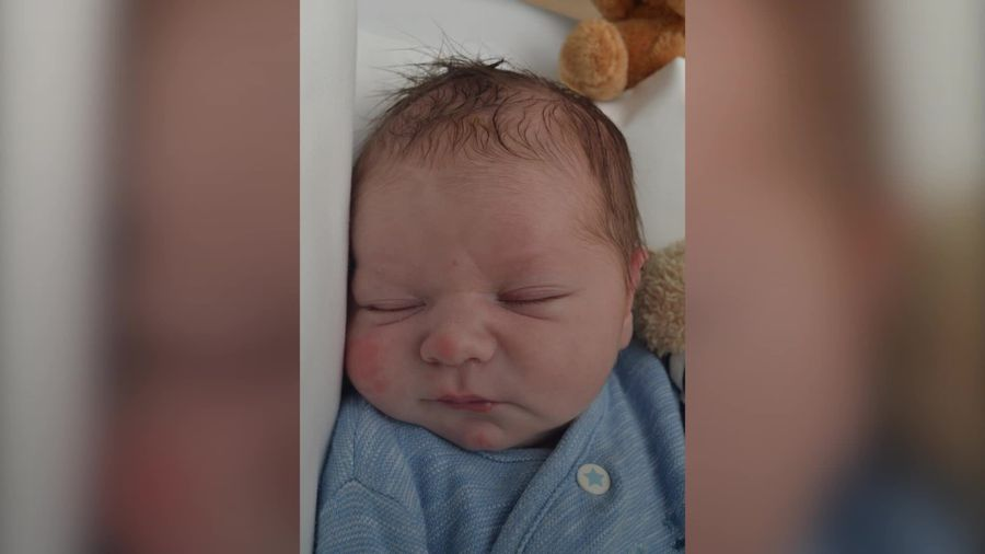 Images of abandoned baby Edward released in hunt for his mother