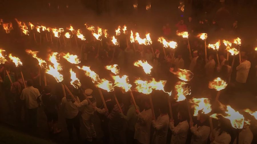 Thousands gather in Shetland for Up Helly Aa fire festival