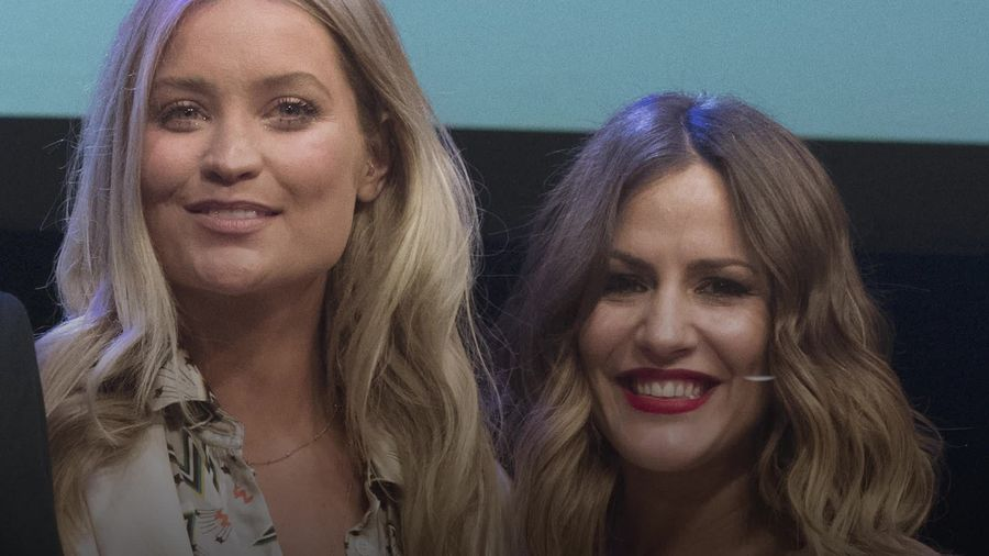 Laura Whitmore remembers Caroline Flack in tearful radio tribute