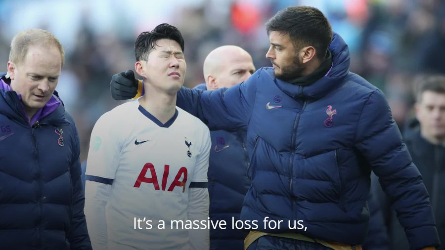 Winks: Son Heung-min's injury is 'a massive blow' for Spurs