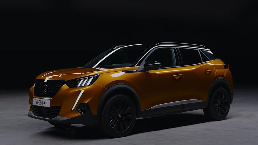 This is the new Peugeot 2008
