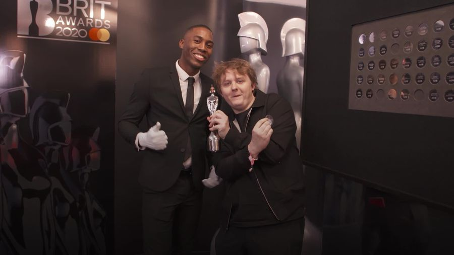 Brit Awards: Lewis Capaldi says winning best new artist and song of the year is 'pretty wild'