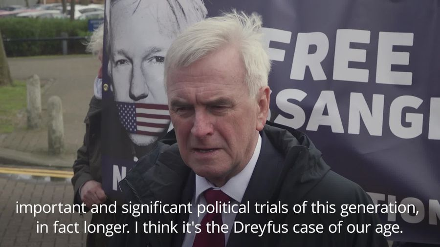 John McDonnell: Julian Assange should not be extradited to the US