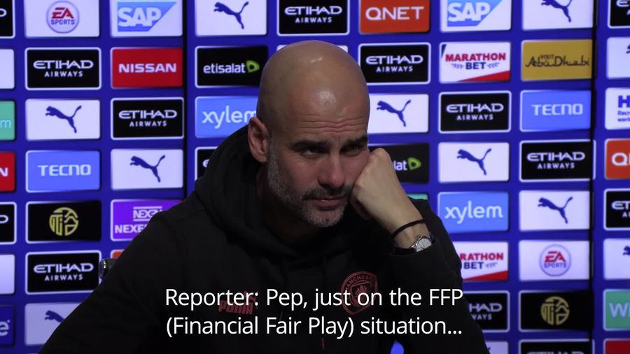 Guardiola: I cannot change what people think over FFP