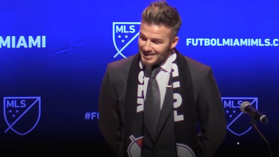 David Beckham: In Numbers