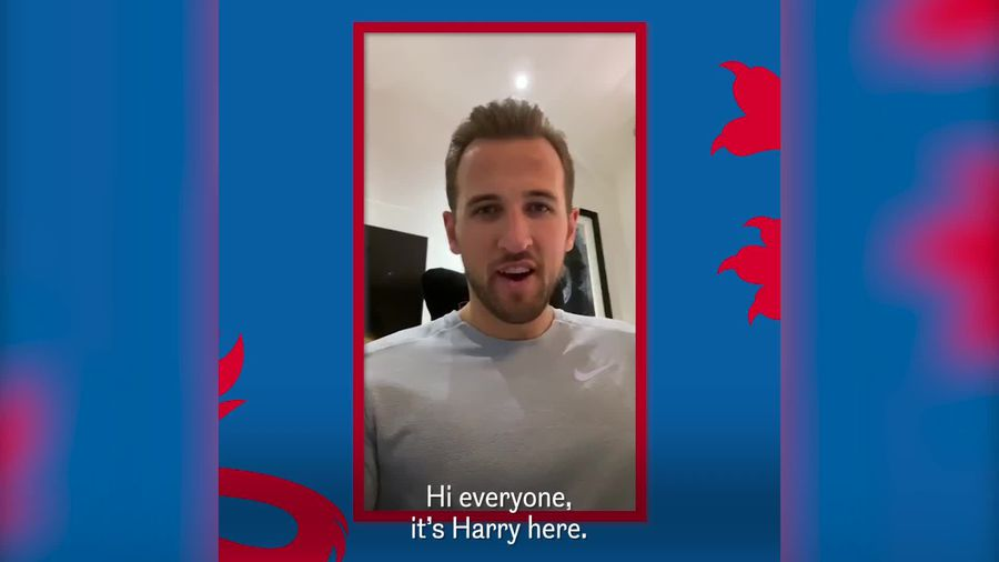 Harry Kane and Steph Houghton help launch Football's Staying Home campaign