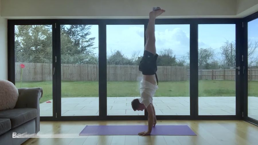 Max Whitlock's lockdown workout for gymnasts