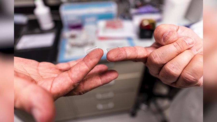Scientists developing coronavirus vaccine delivered via fingertip-sized patch