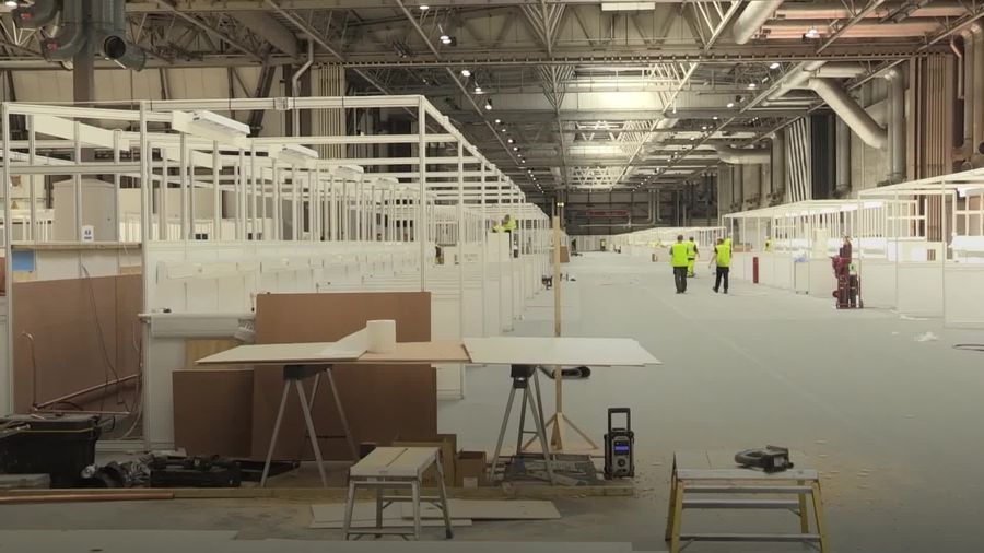 Birmingham's new Nightingale Hospital to open in two days
