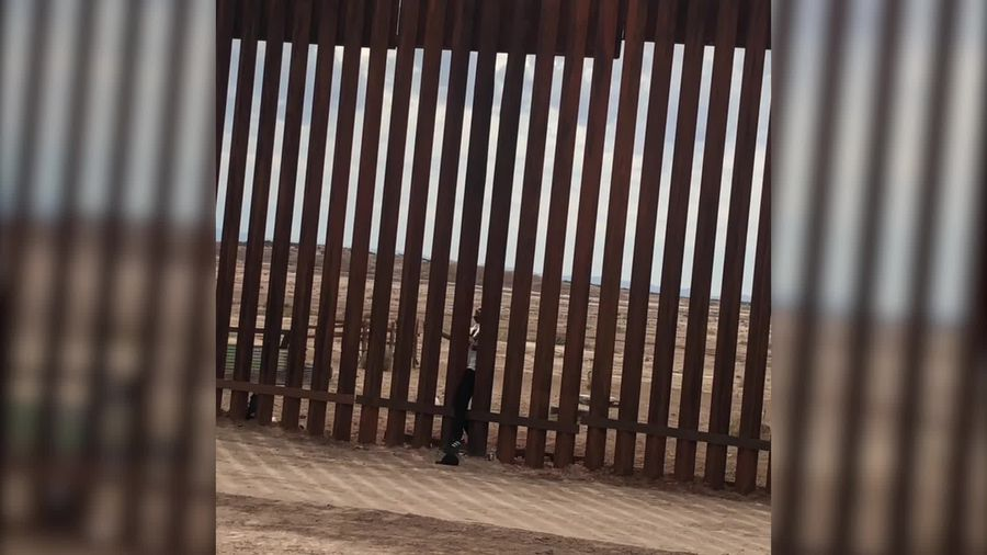 Dynamo appears to walk through US-Mexico border wall in new stunt footage