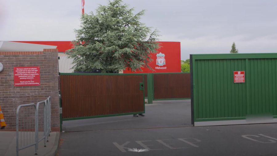 Liverpool players arrive at Melwood as Premier League clubs agree to train in small groups on Tuesda