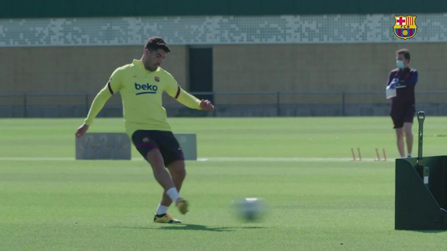 Spain's top football clubs step up training efforts