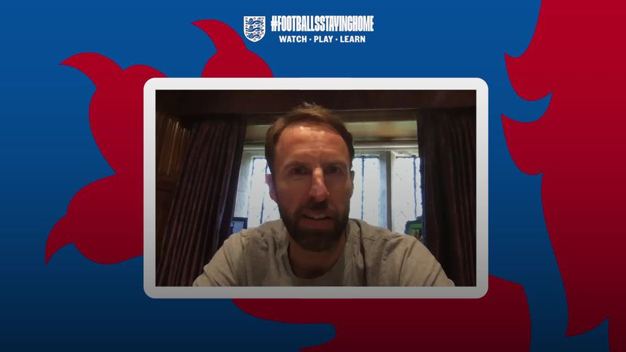 Gareth Southgate video chats with frontline-working England supporters