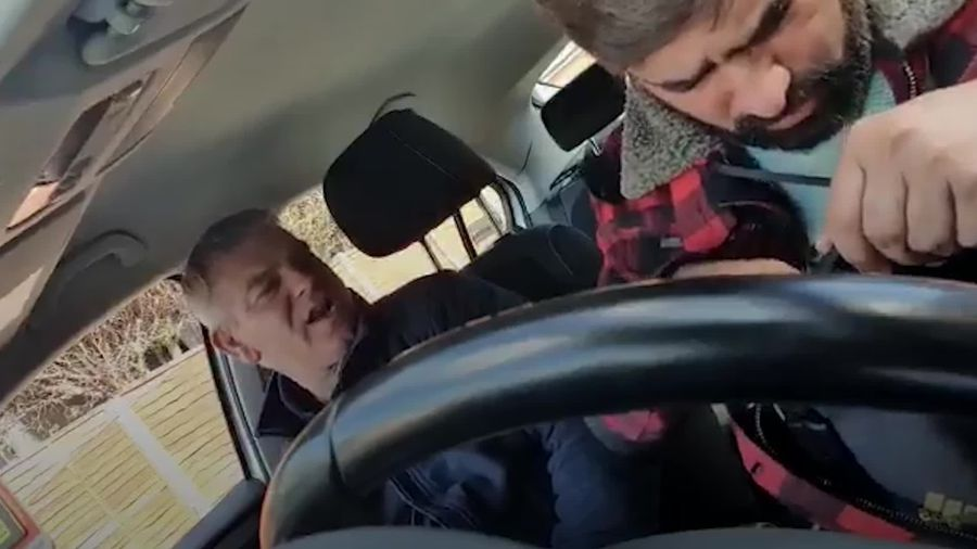 Taxi driver records racist abuse in Birmingham