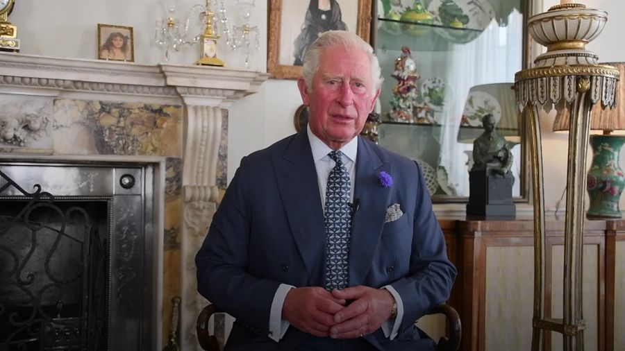 Prince Charles pays tribute to NHS on its 72nd birthday