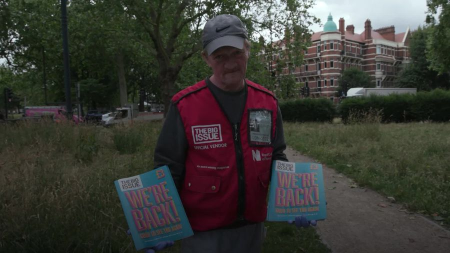 Big Issue kits out vendors for a safe return to selling on the UK streets