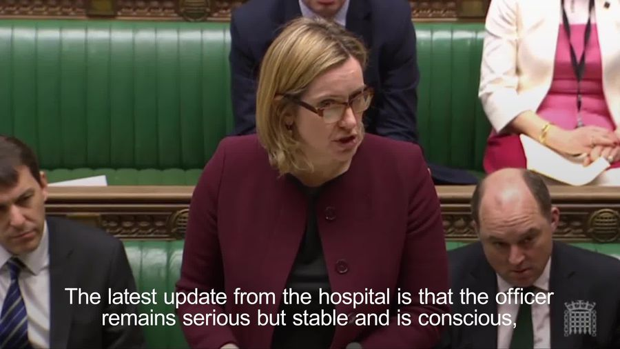 Home Secretary condemns Russian spy attack as 'brazen and reckless'