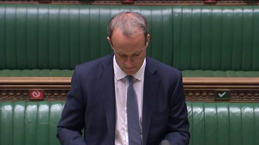 Dominic Raab announces UK's first sanctions for human rights abuse