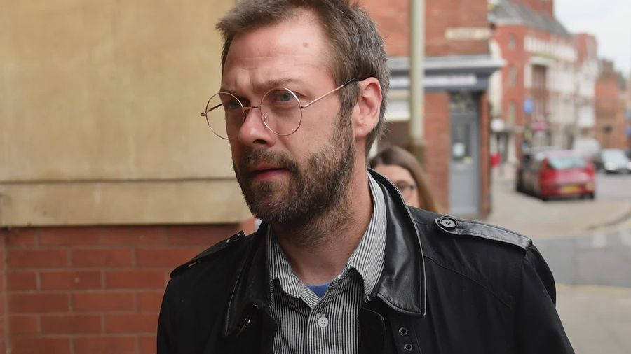 Ex-Kasabian singer Tom Meighan arrives at court on domestic assault charge