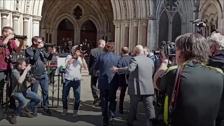 Johnny Depp arrives at High Court as libel trial against The Sun set to begin