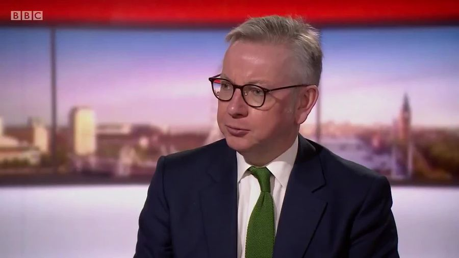 Michael Gove says face masks should not be mandatory in shops