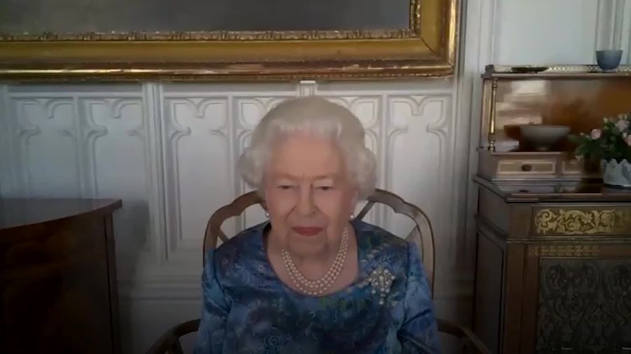 Queen most amused by sailor's lockdown training regime