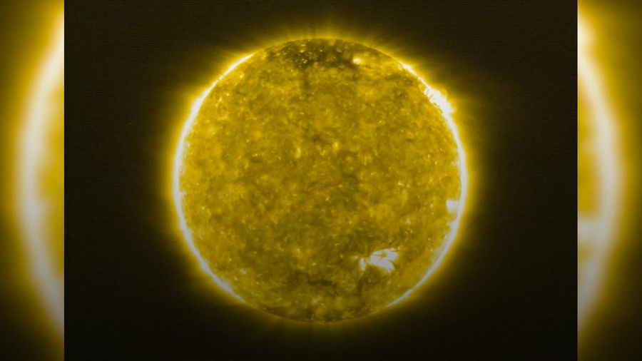 Closest images ever taken of the Sun show 'campfires' dotted across its surface