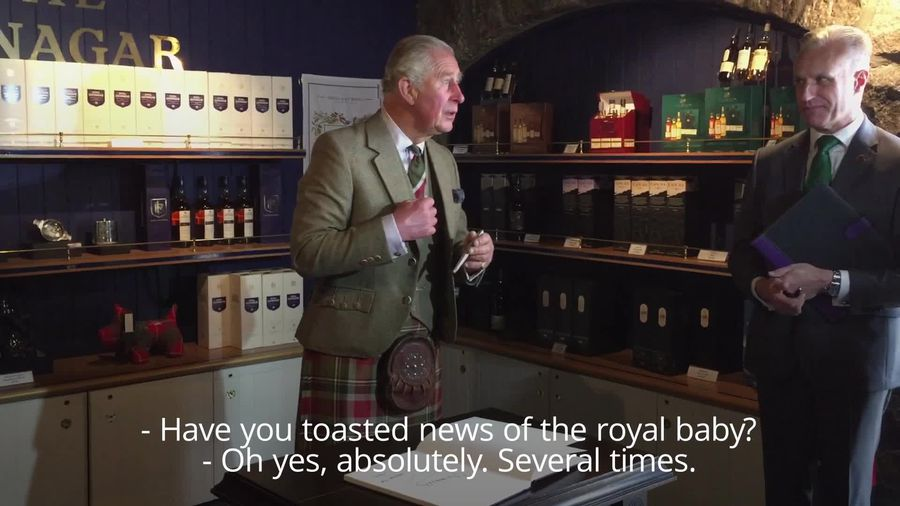 Prince Charles has toasted royal baby 'several times'